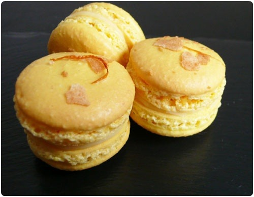 Macaron à la clémentine Corse (Recette française) 3