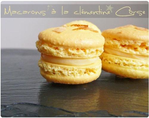 Macaron à la clémentine Corse (Recette française) 2