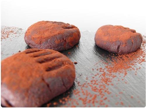 Pattes de chat au chocolat